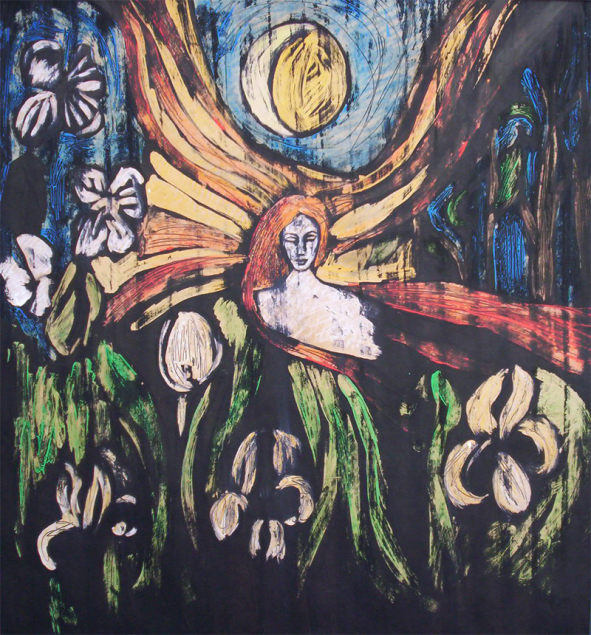 Nouseva kuu, laskeva aurinko, Johanna Vilén